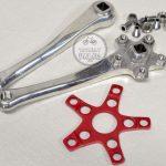 Cook Bros E Crankset Cooks CQP 177mm cranks bicycle parts library