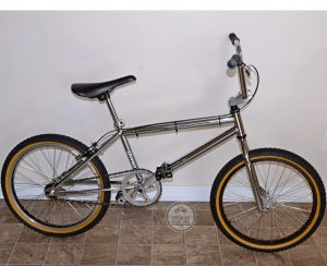 Dyno BMX Bike Chrome with Redline GT and YST Parts totallyvalid.com