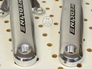 Redline 155mm BMX Cranks made by CPI bicycle parts library