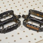 SR Beartrap Pedals SP-452 BMX or MTB mid 1980's bicycle parts library
