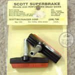 cott Superbrake Deluxe High Performance Brake Shoes . totallyvalid.com vintage bike parts library bicycle catalog