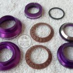 Odyssey Toro Pro BMX Headset Anodized Purple