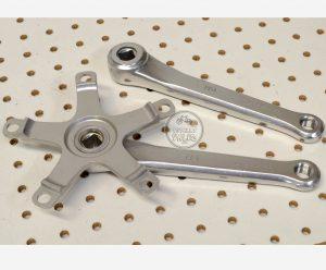Schwinn Le Tour Takagi 170mm Square Taper Crankarms 130mm BCD vintage bicycle parts catalog.