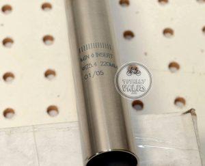 Shadow Conspiracy Titanium Seatpost 25.4mm , mid school bmx