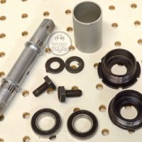 Sugino Ultra Light Bottom Bracket aluminum cups 125mm vintage bmx parts bicycle parts library
