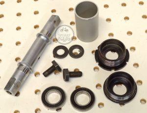 Sugino Ultra Light Bottom Bracket aluminum cups 125mm vintage bmx parts