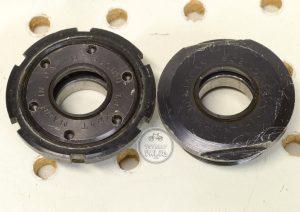 Sugino Ultra Light Bottom Bracket aluminum cups 125mm, vintage bmx parts