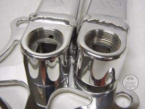 Technique BMX Cranks 153mm Square Taper vintage bmx parts bike parts library
