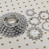 Shimano XT 8 speed cassette CS-M737-I 11-30t..vintage MTB bike parts catalog....#