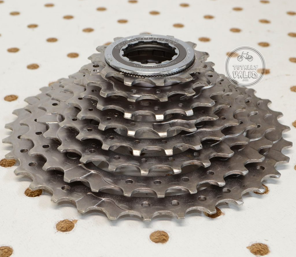 Shimano XTR 8 SPEED Cassette CS-M900 12-32t vintage MTB bike parts catalog...