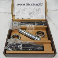FSA Afterburner Crankset, mid school bmx parts