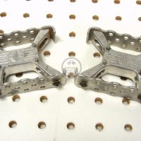 Johnson Precision Products JP mini square BMX Pedals . vintage BMX WEBSITE