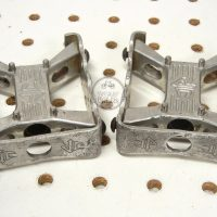 Johnson Precision Products JP mini square BMX Pedals . OLD SCHOOL BMX WEBSITE
