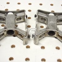 Johnson Precision Products JP mini square BMX Pedals . vintage BMX WEBSITE