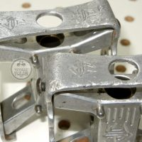SMALL BMX PEDALS Johnson Precision Products JP mini square BMX Pedals . vintage BMX WEBSITE