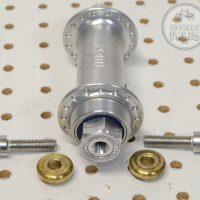 Paul Word Single Speed Rear Hub 32h Silver 32 hole SS -USA- Wacky One-speed Rear Device