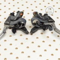 XTR Rapidfire Shifters ST-M951...vintage bike parts picture library