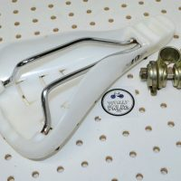GT Freestyle Seat Viscount 2188 White, vintage bmx