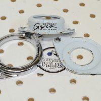 Odyssey Gyro White 1st Generation Rotor, vintage freestyle bmx parts