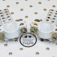 GT Fork Standers 2nd Gen White, vintage freestyle parts