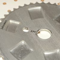 Johnson BMX Sprocket made by GT Bicycles , mid school bmx