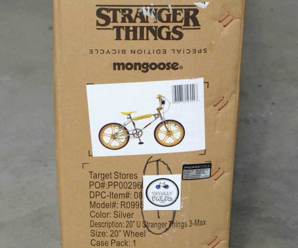 Stranger Things Special Edition Bicycle Mongoose