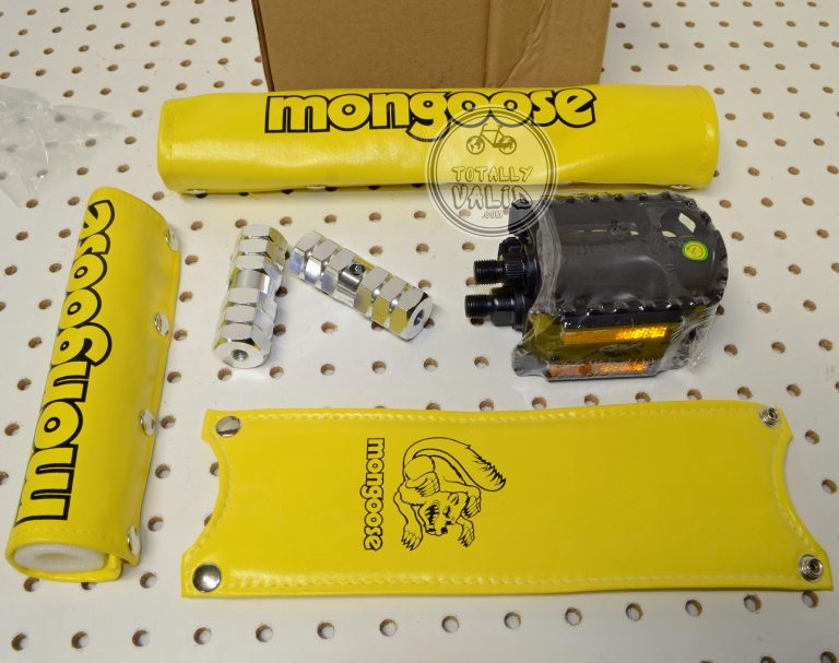 Stranger Things Mongoose Padset and BMX Pegs