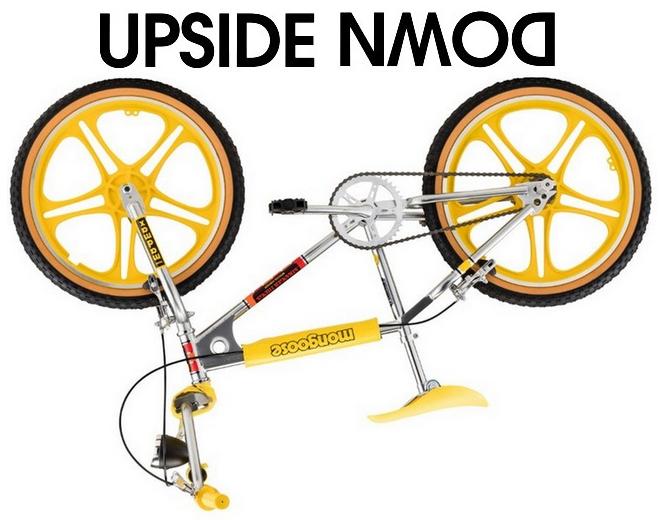 Stranger Things Mad Max Mongoose BMX Bike, upside down Netflix