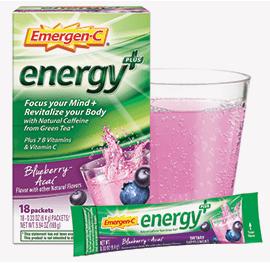 Emergen-C Energy Plus