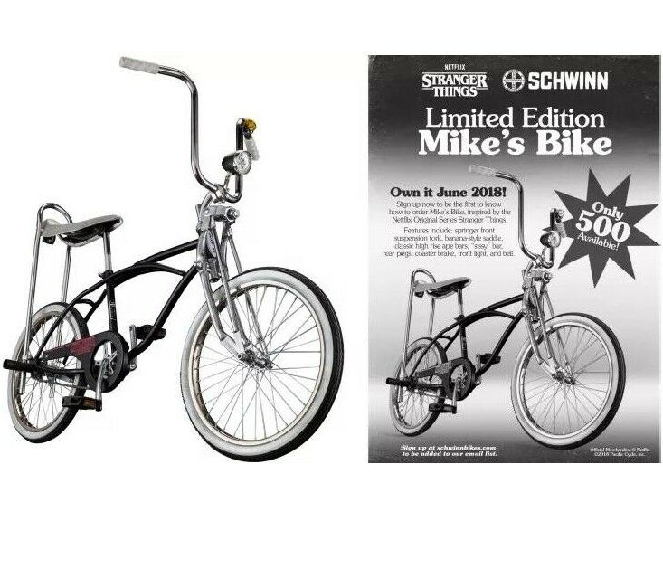 Netflix Stranger Things BMX Bike Mike Wheeler Schwinn