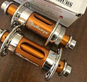 Bullseye slotted BMX hubs