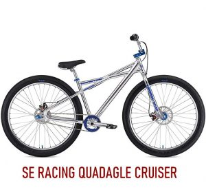 Retro SE Racing Quadangle Cruiser Retro BMX Bike