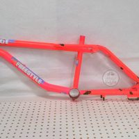 88 pft neon pink gt bmx freestyle bike