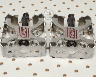 Crupi Pro Square BMX Pedals 9/16 Chromoly Spindles . vintage bmx parts pictures library - Late 1990's